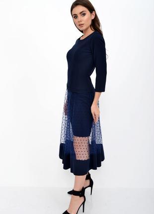 Платье женское 119R461S ЦВЕТ ТЕМНО-СИНИЙ