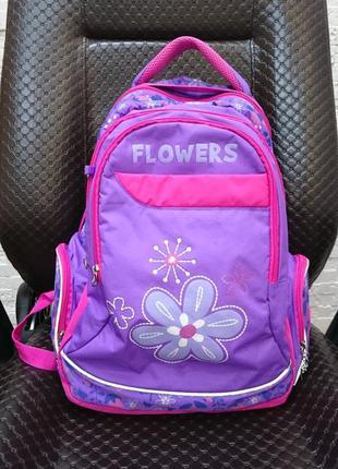 Рюкзак школьный yes flowers для девочки