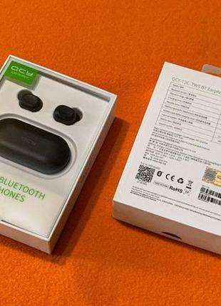 Оригинал! TWS QCY-T2C (аналог T1S, QS2) Bluetooth 5.0 Airdots