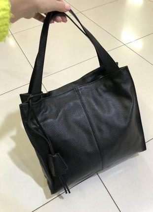 Женская кожаная сумка италия в натуральной коже , сумки