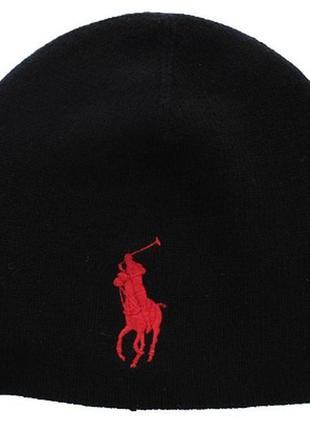 Шапка шерсть марки polo ralph lauren, оригинал, новая