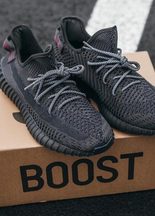 "Кроссовки adidas yeezy boost 350 ""black"""