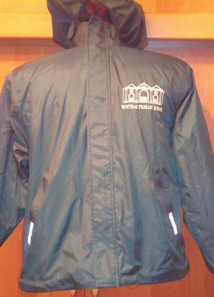 Куртка , 2-х сторонняя, внутри флис.  snowgoobe