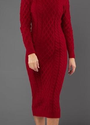 Теплые шерстяные платья, с горлом и без. 8 разных цветов