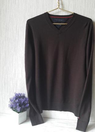 Модный мужской свитер tommy hilfiger