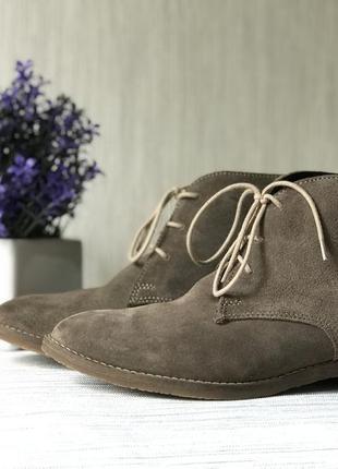 Замшевые ботиночки roberto santi