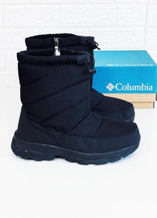 Дутики мужские columbia термо сапоги зима коламбия ботинки дут...