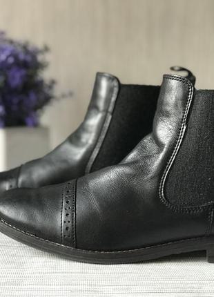 Кожаные ботинки 5th avenue