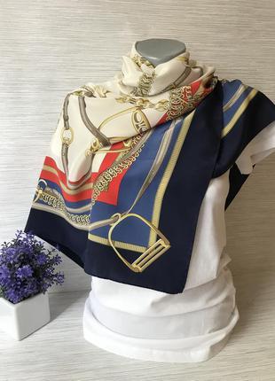 Легкий шековый платок
