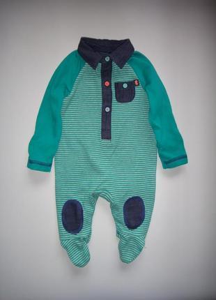 Зеленый человечек m&co  newborn, 4,5 см