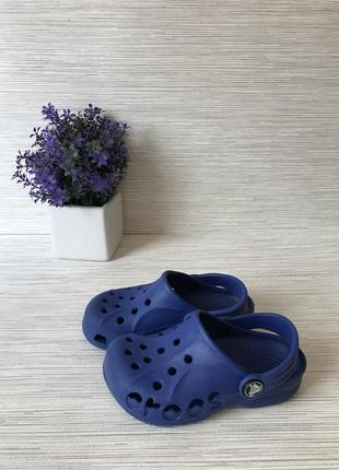 Детские сланцы crocs