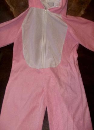 Маскарадный костюм зайчик на рост 122 - 128 см