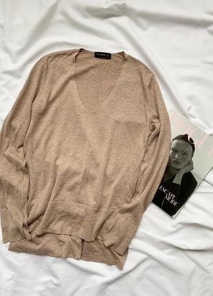 Кофта, пуловер, бежевая, бежева, беж, зара, zara