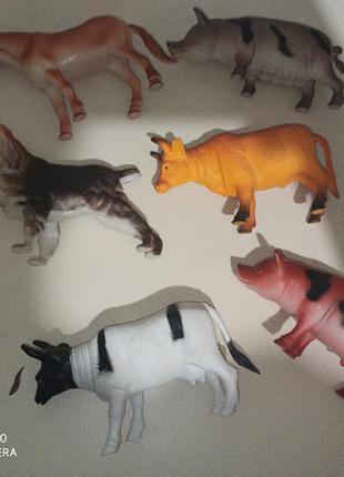 Набор животные большие фигурки