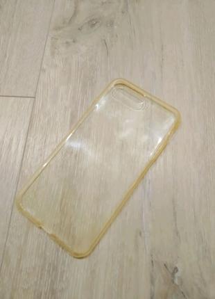 IPhone 7 Plus / 8 Plus чехол силиконовый прозрачный
