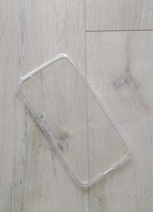 Xiaomi Redmi Go чехол силиконовый прозрачный