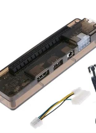 PCI-E Внешний ноутбук видеокарта док-станция кабель atx для Mini