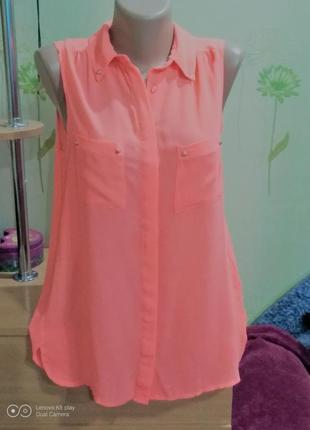 Очаровательная блуза-майка-разлетайка на лето-m-l-от pimkie-