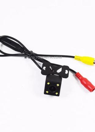 Камера заднего вида универсальная 4 диода LED