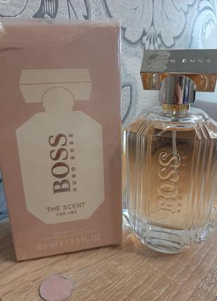 ☆оригинал☆100мл hugo boss the scent for her  парфюмированная вода