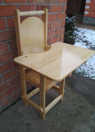 Стілець з столом для дітей