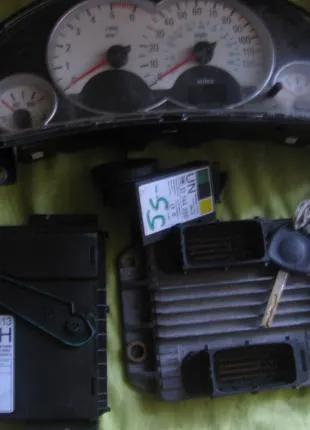 Блок управления двигателем комплект ЭБУ 1.7cdti Opel Combo