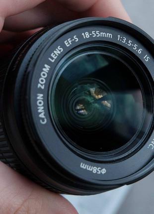 Фотоаппарат Canon 550d 18-55 f 3,5-5,6