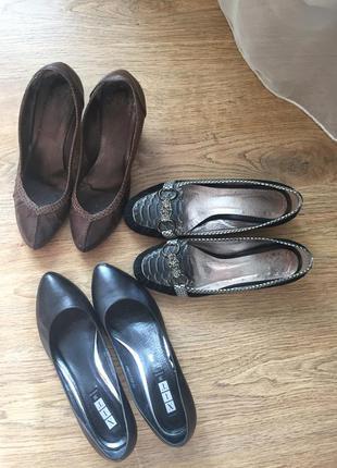 3 пары обуви,цена за все!