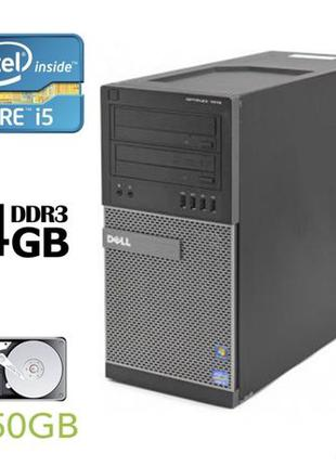 Системный блок Dell 7010 Tower (i5-3470/DDR3 4GB/HDD 250GB)