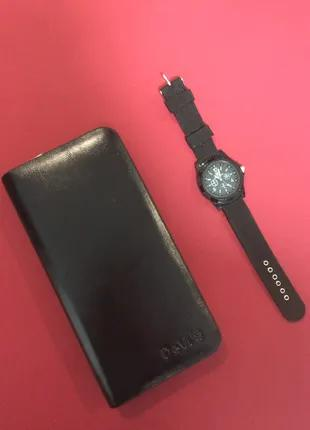 Клатч Портмоне Девис Devis+ наручные часы SWISS ARMY