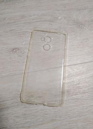 Xiaomi Redmi 4 Prime чехол силиконовый прозрачный