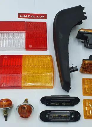 Стёкла заднего фонаря ЗАЗ 968 ЗАПОРОЖЕЦ луаз резинки накладки