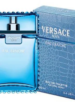 Мужские духи Versace Eau Fraiche Man 100 мл ОАЭ Лицензия