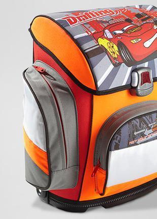 Рюкзак каркасный для школы 1-4 класс tchibo tcm тачки макквин