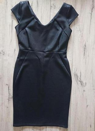 Платье вечернее джордж 12 р 40 р m под рептилию миди до колена