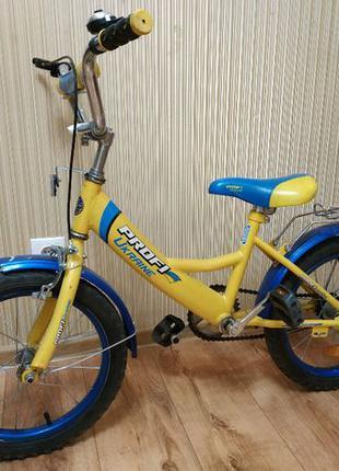 Двухколесный детский велосипед PROFI UKRAINE 16 дюймов