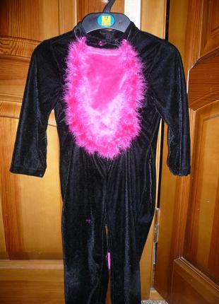 Карнавальный новогодний костюм кошка кошечка 4-5 года 104-110 ...