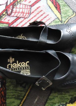Кожаные фирменные туфли антистресс