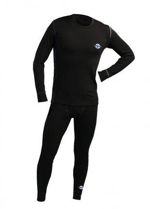 Мужской комплект термобелья для тренировок и повседневной носки S
