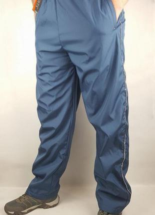 Мужские теплые штаны плащевка+флис р.m  венгрия