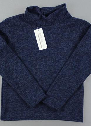Теплый свитер гольф на мальчика р. 134. украина.