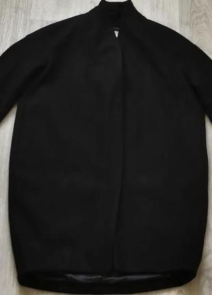 Продам женское кашемировое демисезонное тёплое чёрное пальто +...