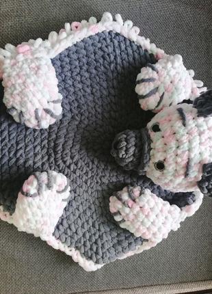 Детский коврик-подушка-игрушка💗💖❤️