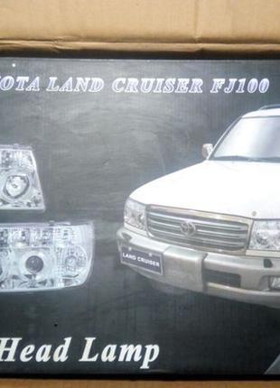 Фары линзованые Toyota Land Cruiser 100