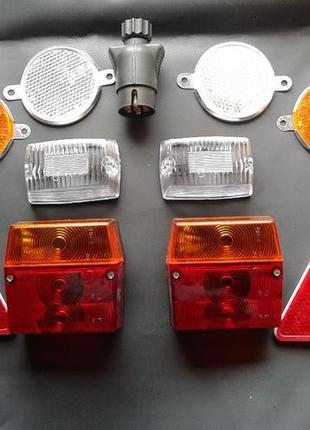 Комплект светотехники легковой прицеп