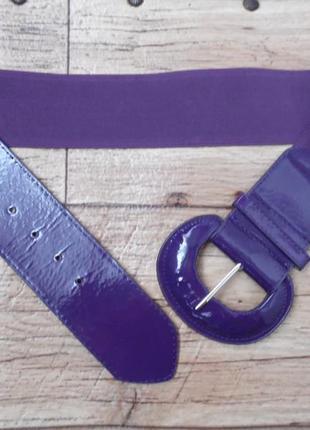 Ремень фиолетового цвета