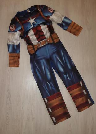 Карнавальный костюм marvel капитан америка