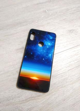 Xiaomi Redmi Note 5 чехол полиуретановый стеклянный
