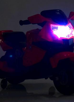Детский двухколёсный электрический мотоцикл Bambi