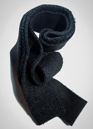Интересный пояс мягкий ремень под платье дубленку